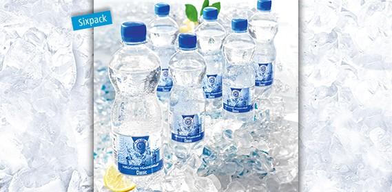 Aqua Culinaris, Natürliches Mineralwasser Classic, 0.5L