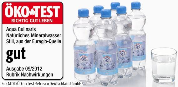 Aqua Culinaris, Natürliches Mineralwasser Still, 0.5L