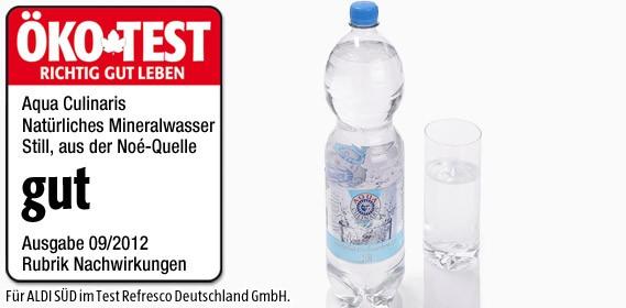 Aqua Culinaris, Natürliches Mineralwasser Still, 1.5L