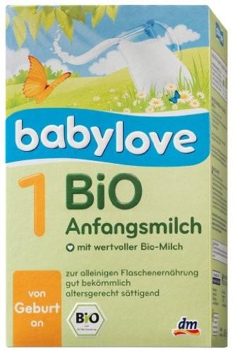 Babylove BiO Folgemilch 1,600g
