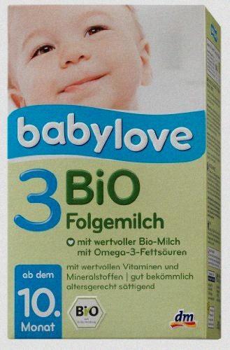 Babylove BiO Folgemilch 3,500g