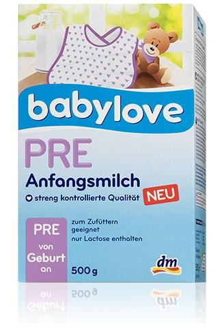 Babylove PRE,500g