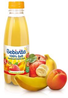 Bebivita 100% Saft, Bananen-Früchte, 500ml