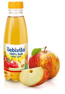 Bebivita 100% Saft, Milder Apfel, 500ml