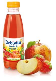 Bebivita 100% Saft, Vitamin C, 500ml