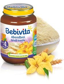 Bebivita Abendbrei Grieß-Vanille,190g