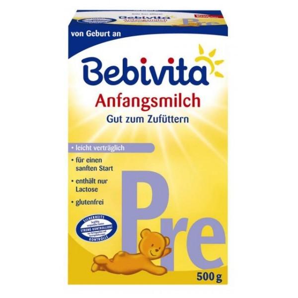 Bebivita Anfangsmilch PRE, 500g