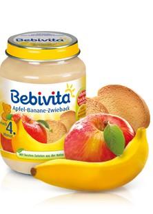 Bebivita Apfel-Banane-Zwieback,190g