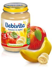 Bebivita Banane in Apfel,190g