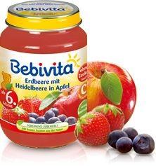 Bebivita Erdbeere mit Heidelbeere in Apfel,190g