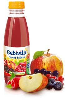 Bebivita Frucht & Eisen, 500ml