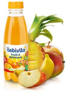 Bebivita Frucht & Multivitamin, 500ml