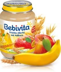 Bebivita Früchte-Allerlei mit Vollkorn,190g