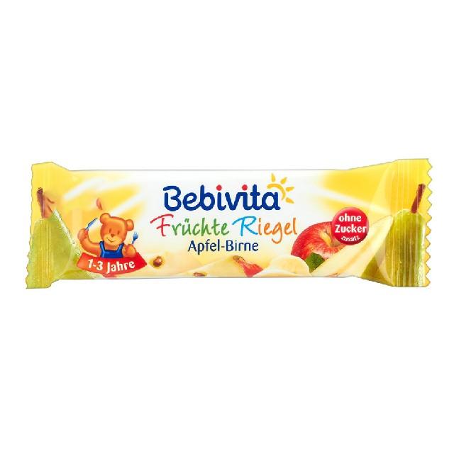 Bebivita Früchte Riegel Apfel-Birne,25g