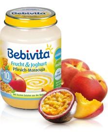 Bebivita Frucht&Joghurt Pfirsich-Maracuja,190g