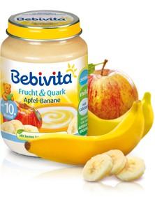 Bebivita Frucht&Quark Apfel-Banane,190g