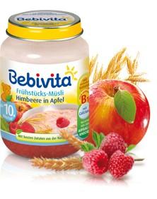 Bebivita Frühstücks-Müsli Himbeere in Apfel,160g