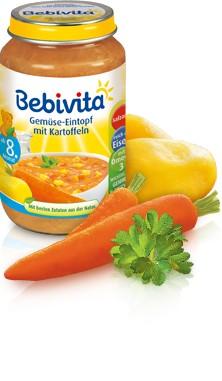 Bebivita Gemüse-Eintopf mit Kartoffeln,220g