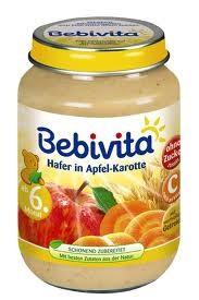 Bebivita Hafer in Apfel-Karotte,190g