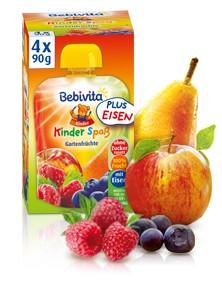 Bebivita Kinder Spass, Gartenfrüchte, 90g
