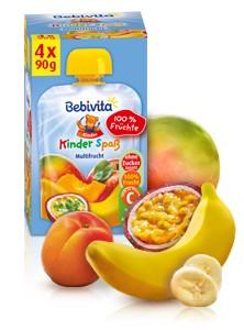 Bebivita Kinder Spass, Multifrucht, 90g