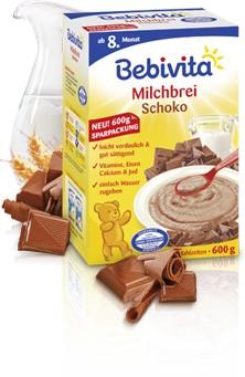 Bebivita mléčná kaše čokoláda 300g