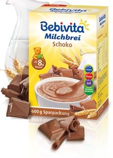 Bebivita mléčná kaše čokoláda 600g
