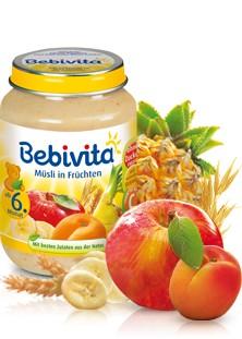Bebivita Müsli in Früchten,250g
