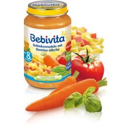 Bebivita Schinkennudeln mit Gemüse-Allerlei, 220g