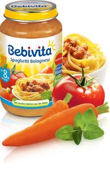 Bebivita Spaghetti Bolognese,220g