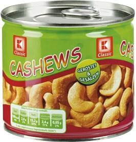 Cashews, 150g