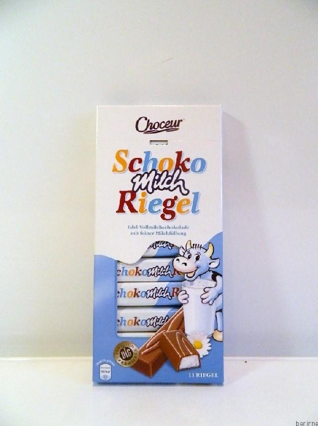 Choceur, Schoko Milch Riegel,200g