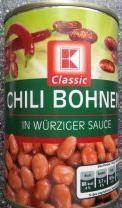 Classic, Chili Bohnen, 400g