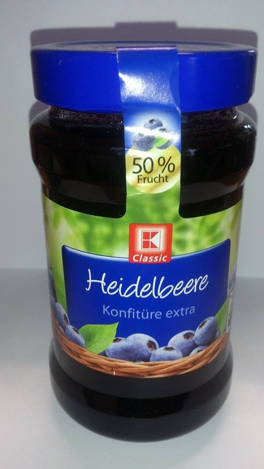 Džem Borůvka 50% ovoce,450g