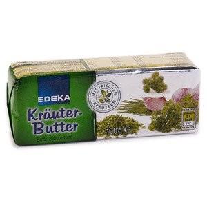Edeka, Kräuter Butter, 100g