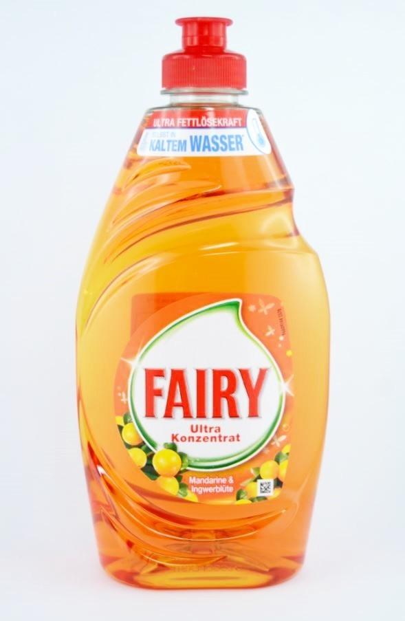Fairy,Jar,Mandarinka a zázvorový květ,500ml