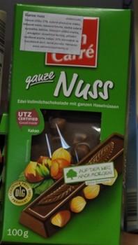 Fin Carré Nuss,čokoláda s oříšky,100g