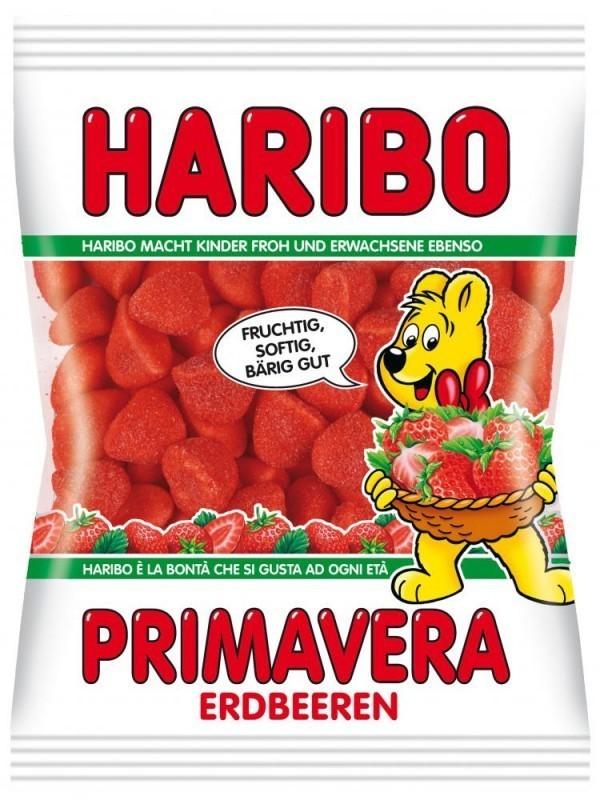 Haribo, Primavera erdbeeren,200g