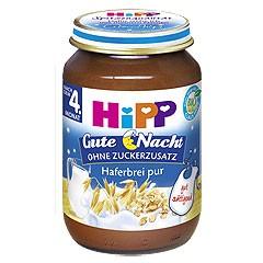Hipp Gute Nacht, Haferbrei pur, 190g