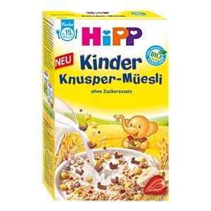 Hipp, Kinder Knusper-Müesli, 200g