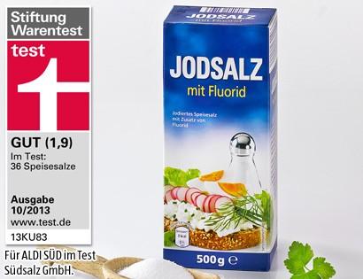 Jodsalz mit Fluorid, 500g