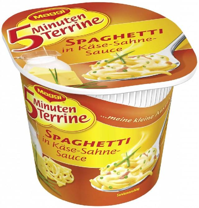 Maggi, 5MT, Spaghetti in Käse-Sahne-Sauce, 62g