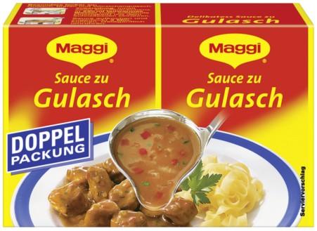 Maggi, Sauce zu Gulasch, 2x28g
