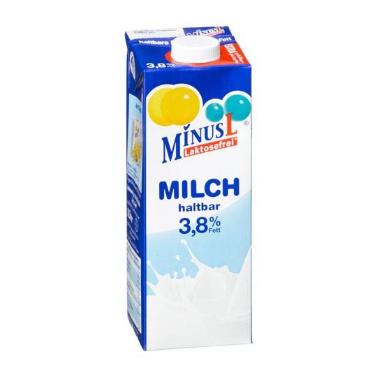 MinusL, Mléko 3.8%, 1L