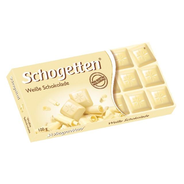 Schogetten, Weisse Schokolade,100g
