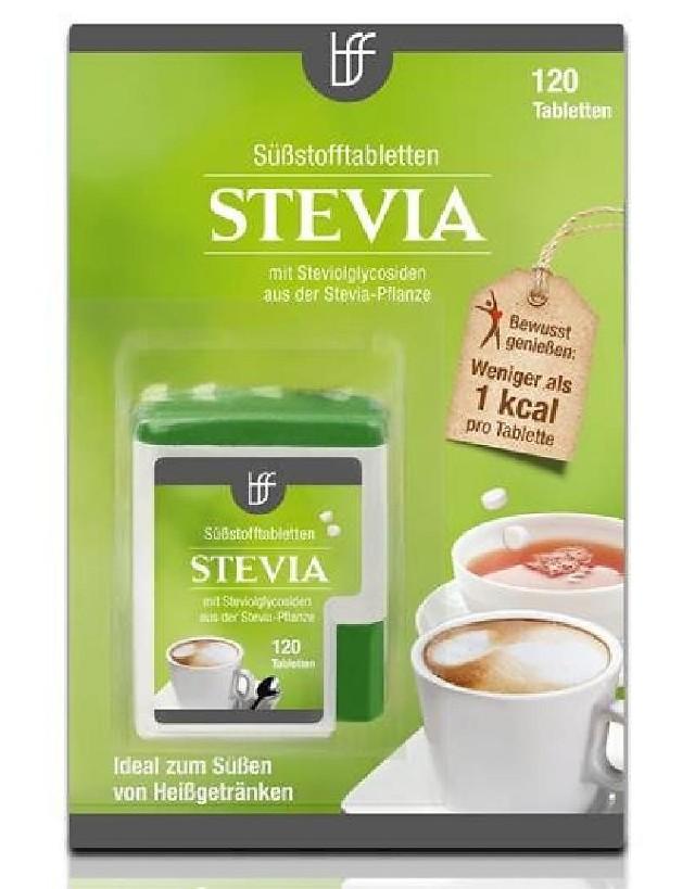 Stevia, Süssstofftabletten, 120ks