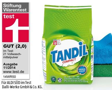 Tandil Compact Vollwaschmittel, 30 dávek