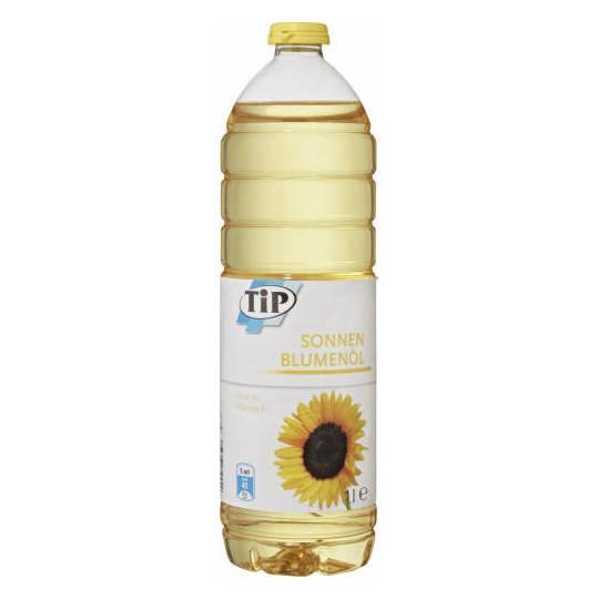 Tip Sonnen Blumenöl, Slunečnicový olej,1L