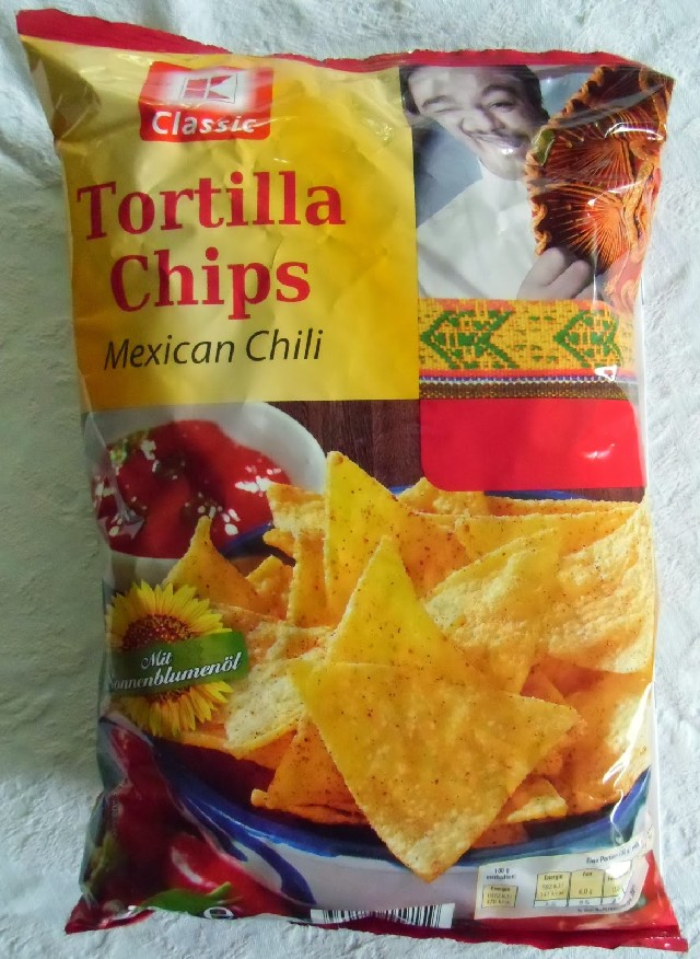Tortilla Chips, Mexican Chili, 300g
